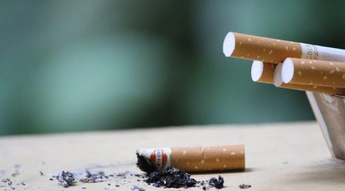 Tabagismo: hábito que mata
